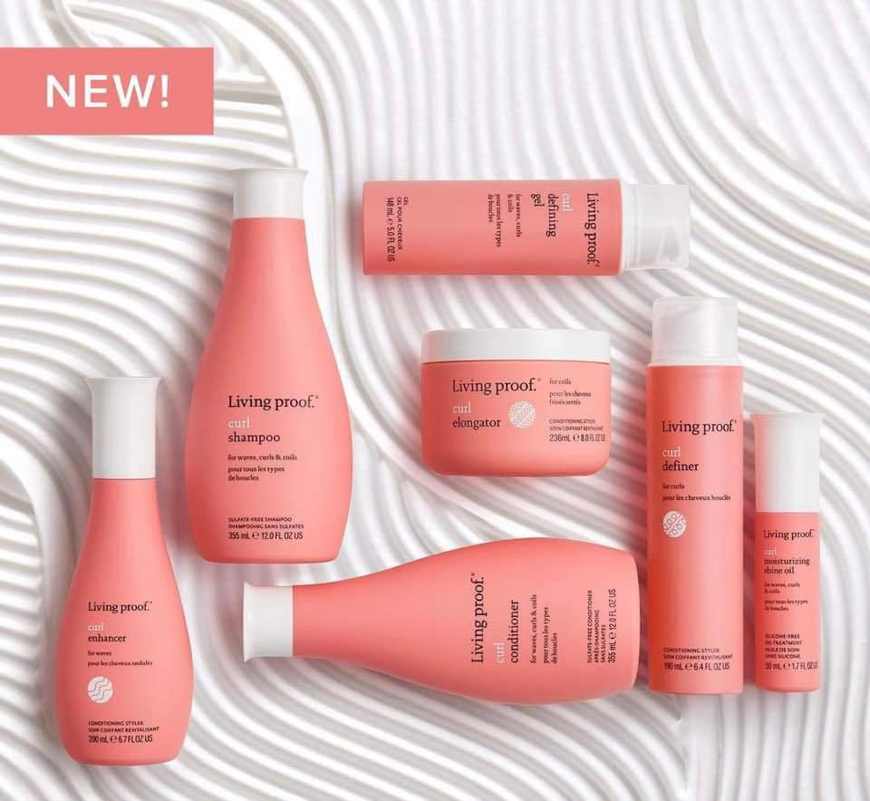 New Living Proof Curl Products